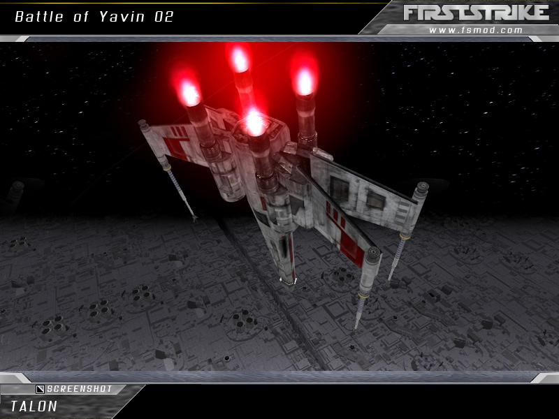 When creating our version of the Battle of Yavin,